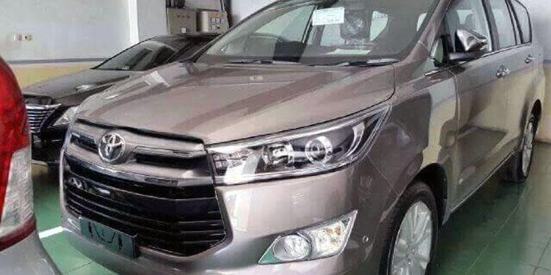 All-New Kijang Innova ditemukan di diler Toyota di Jakarta Utara.