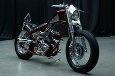 Inspirasi Wayang pada Yamaha Byson Chopper Bobber