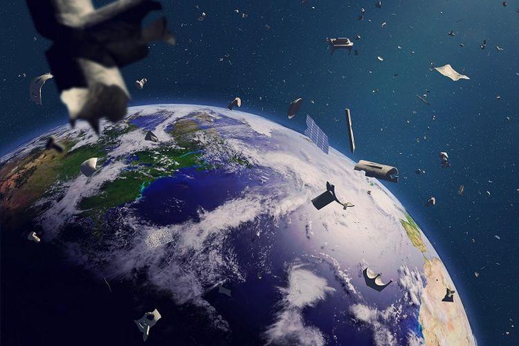 Sampah angkasa.