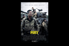 Sinopsis Film Fury, Aksi Brad Pitt Lawan Tentara NAZI