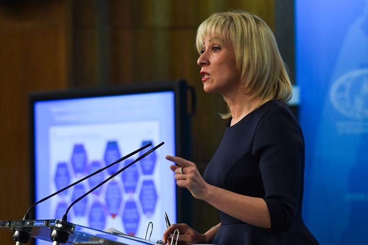 Juru Bicara Kementerian Luar Negeri Rusia, Maria Zakharova.