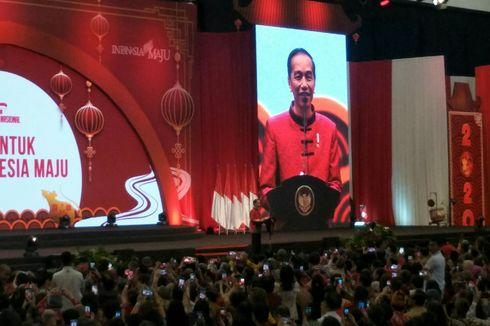 Saat Jokowi Singgung Ahok yang Tidak Hadir di Imlek Nasional...