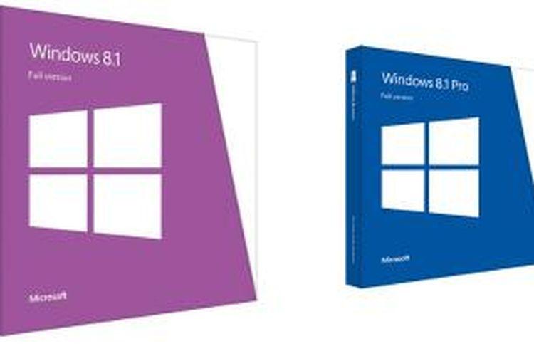 Kotak penjualan Windows 8.1