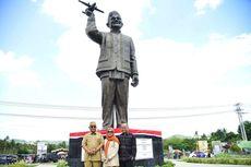 Patung Pertama BJ Habibie di Gorontalo Diresmikan, Dibuat 2 Seniman Yogyakarta