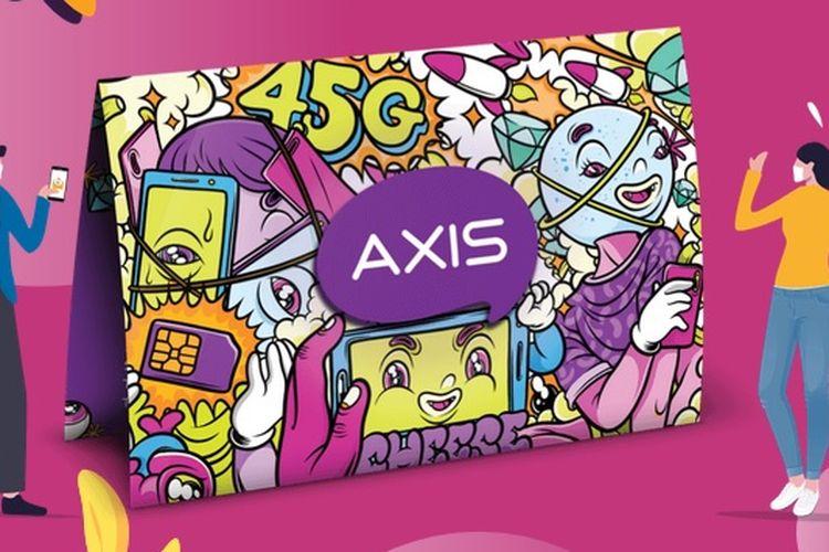 Ilustrasi operator seluler Axis.