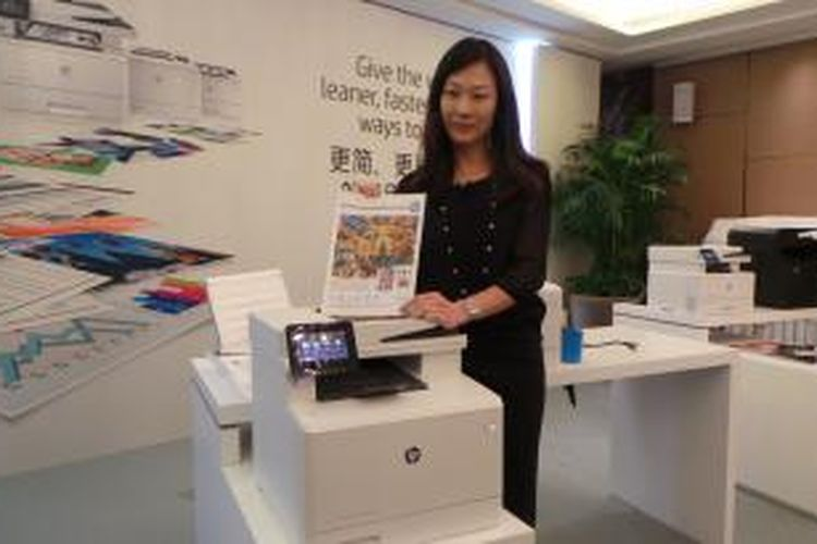Printer Hp Terbaru Cetak Warna Bolak Balik Dalam 10 Detik Halaman All Kompas Com