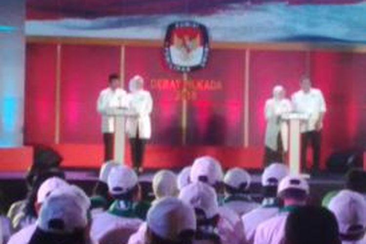 Debat pasangan calon walikota dan pasangan walikota Surabaya tahap I