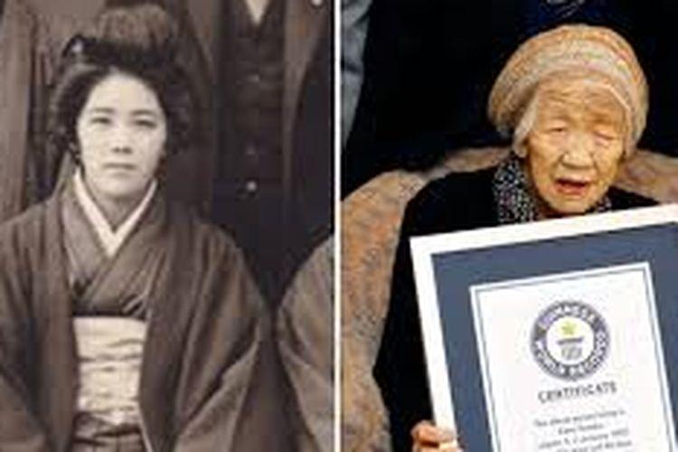 Kanke Tanaka (117 tahun) memegang rekor sebagai orang tertua di dunia.