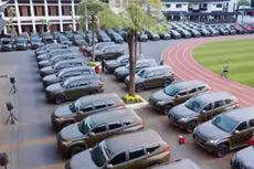 547 Kendaraan Dinas yang Diserahkan KSAD Gunakan Warna Cat Baru