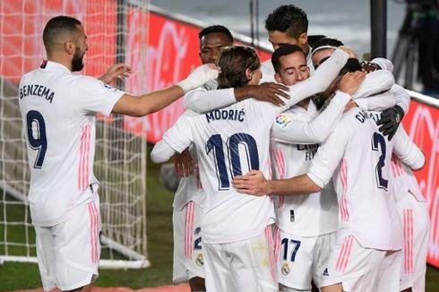 Real Madrid Vs Atletico, Los Blancos Buat Luis Suarez dkk Tak Berdaya