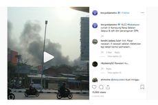 Bukan Rumah, Kebakaran di Rawasari Membakar Ban Bekas dan Rongsokan
