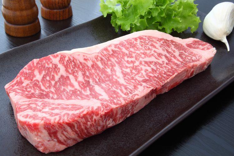 Ilustrasi daging sapi kobe