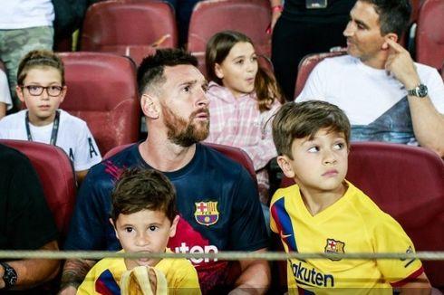 Messi Ungkap Selebrasi Anaknya yang Dukung Real Betis