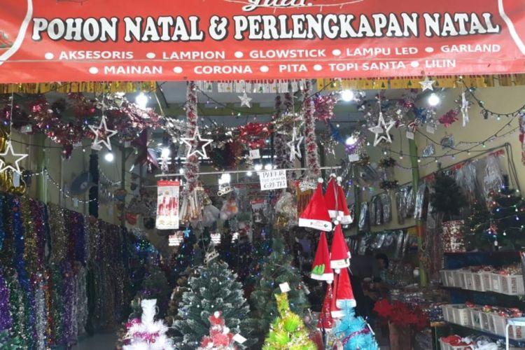 Jelang Natal Penjual Hiasan Di Bekasi Mulai Ramai Pembeli
