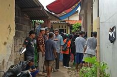 Rumah Keluarga Kemalingan saat Tunggu Jenazah Bocah yang Hanyut di Kali Pondok Maharta