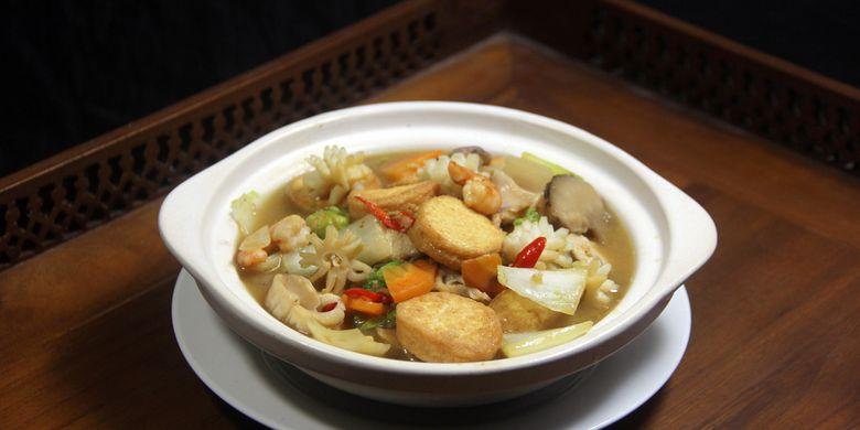 Cara Membuat Sapo Tahu Seafood Ala Restoran Chinese Food Halaman All Kompas Com