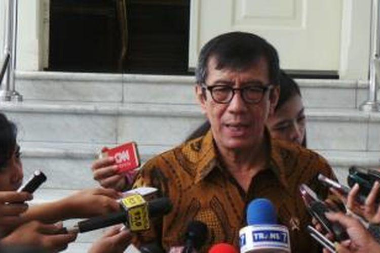 Menteri Hukum dan Hak Asasi Manusia Yasonna H Laoly.