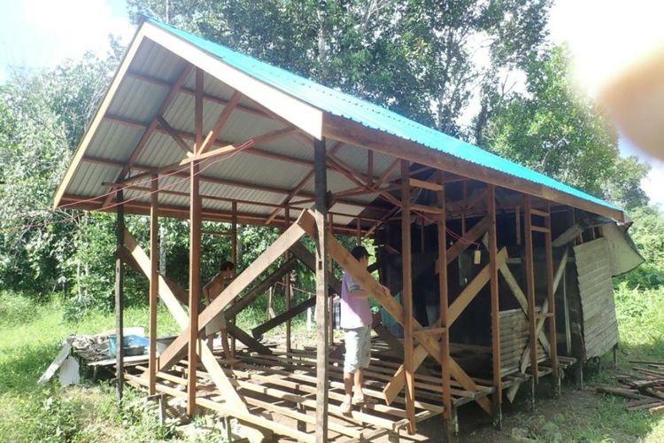 Pelaksanaan program Bantuan Stimulan Perumahan Swadaya (BSPS) di Kalimantan Tengah.