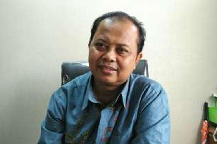 Ketua KPU DKI Sumarno di Kantor KPU DKI, Jalan Salemba Raya, Jakarta Pusat, Sabtu (21/11/2016).