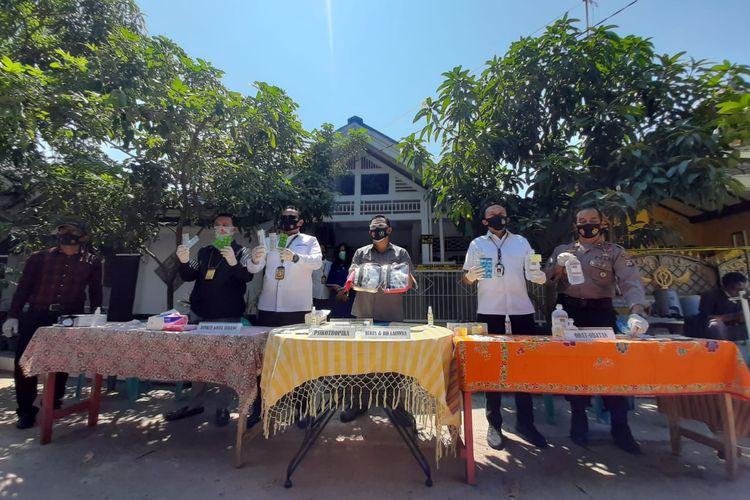 Polda Banten grebek klinik kecantikan ilegal dan jual obat psikotropika
