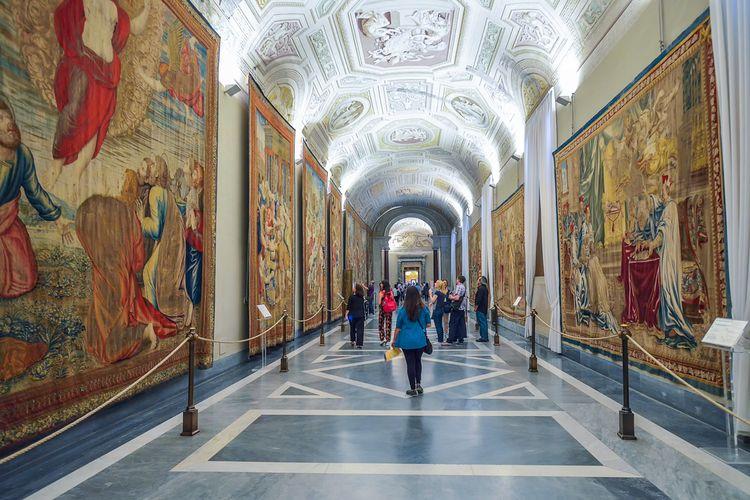 Vatican Museum di Roma, Italia, (1/6/2016).