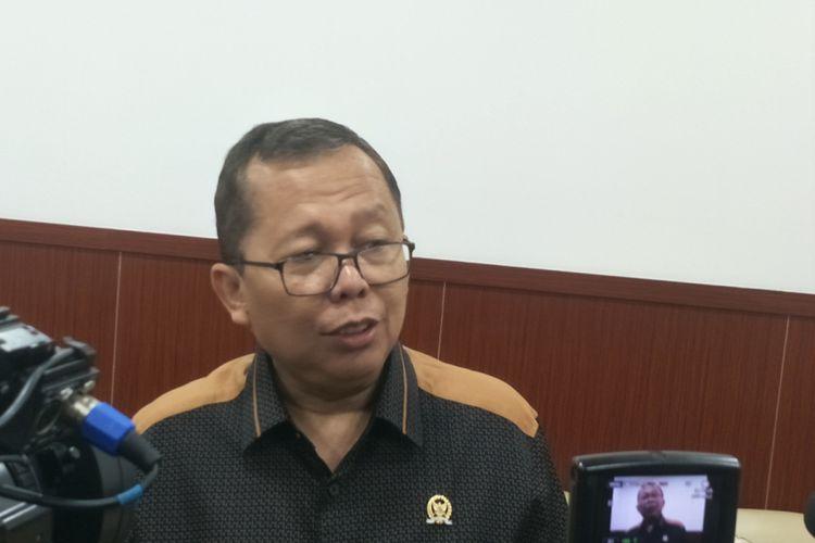 Sekjen Partai Persatuan Pembangunan (PPP) Arsul Sani saat ditemui di Kompleks Parlemen, Senayan, Jakarta, Rabu (4/7/2018).
