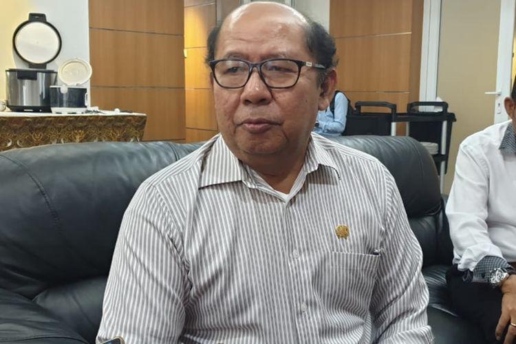 Anggota DPRD DKI Jakarta Pantas Nainggolan di Gedung DPRD DKI, Jalan Kebon Sirih, Jakarta Pusat, Selasa (10/9/2019)