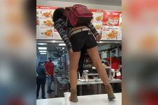Tidak Dilayani, Seorang Wanita Kelaparan di KFC California Ngamuk