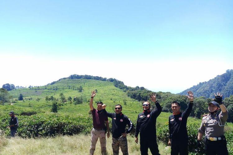 Kapolda Jateng Irjen Pol Ahmad Luthfi melaksanakn patroli di PTPN IX Desa Gogik Ungaran Barat Kabupaten Semarang