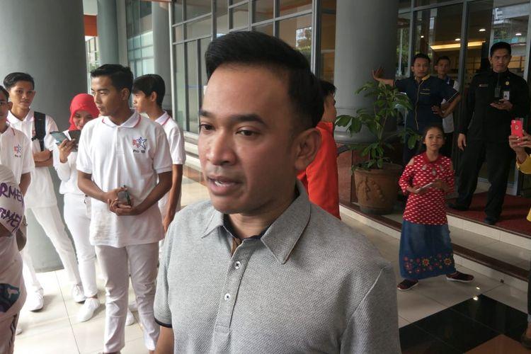 Ruben Onsu di kawasan Kuningan, Jakarta Selatan, Senin (28/10/2019).
