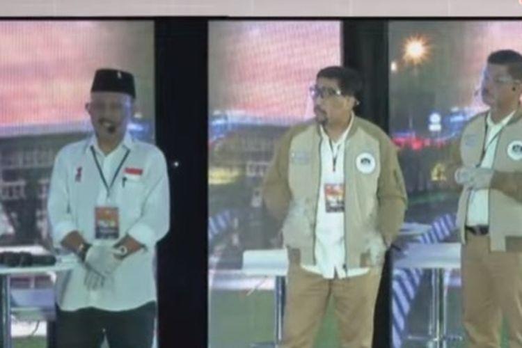 Debat publik Pilkada Surabaya 2020 putaran kedua digelar Rabu (18/11/2020) malam di Dyandra Convention Center Surabaya.