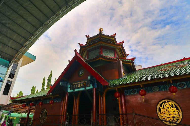 Ilustrasi Masjid Cheng Hoo, Surabaya