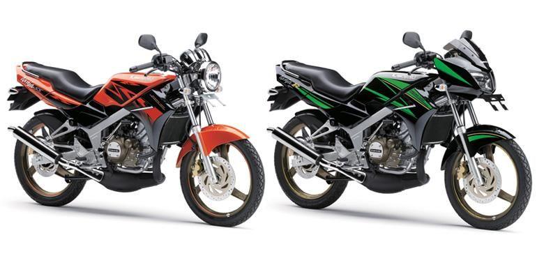 Kawasaki Ninja SS dan Ninja R, dua dari empat seri Kawasaki Ninja 2-tak yang akhirnya tutup usia.