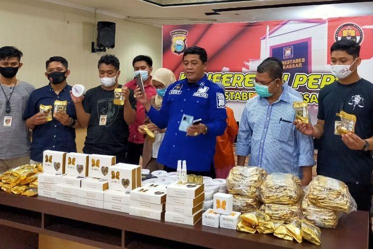 Polisi Ungkap Kosmetik Ilegal di Bandung Beromzet Rp 55 Juta Per Bulan