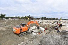 Atasi Banjir di Luwu Utara, Tanggul Darurat dengan Metode Perkuatan Geotextile Siap Dibangun
