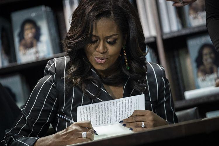 Mantan Ibu Negara AS, Michelle Obama.