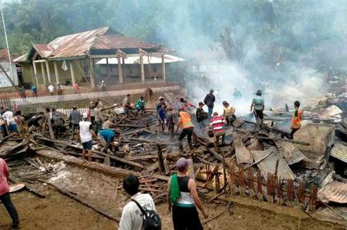 Fakta 75 Rumah di Sumbawa Ludes Terbakar, gara-gara Aki dan Ratusan Warga Mengungsi