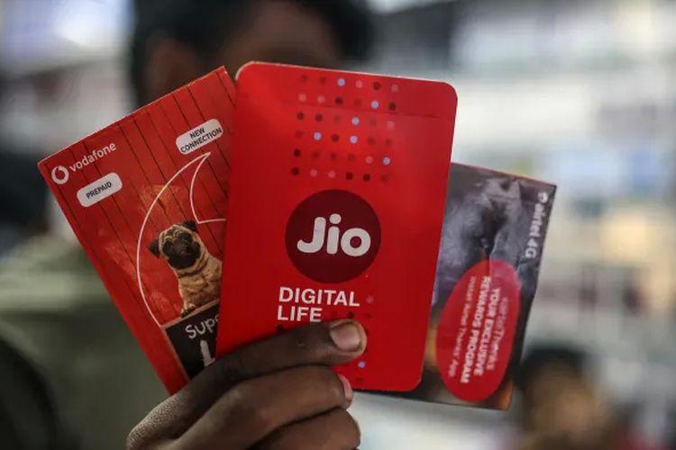 Jio Reliance, operator seluler terbesar di India.