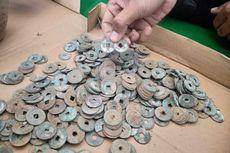 Sedang Mencangkul, Petani Jepara Temukan Ratusan Koin Kepeng Seberat 2 Kilogram, Diduga Peninggalan China