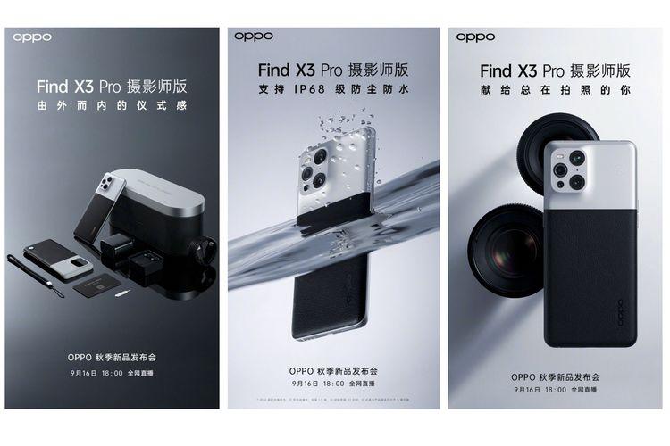 Oppo dan Kodak hadirkan Find X3 Pro Photographer Edition.