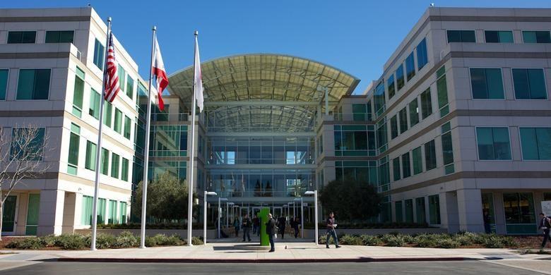 Apple Campus, kantor pusat Apple Inc. di Cupertino, California