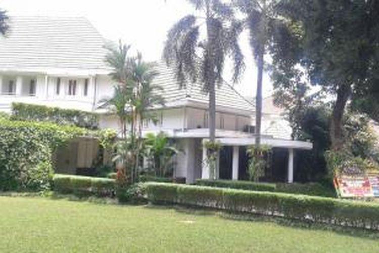 Rumah dinas Gubernur DKI Jakarta, Jalan Taman Suropati No. 7, Menteng, Jakarta Pusat, Senin (21/10/2014).