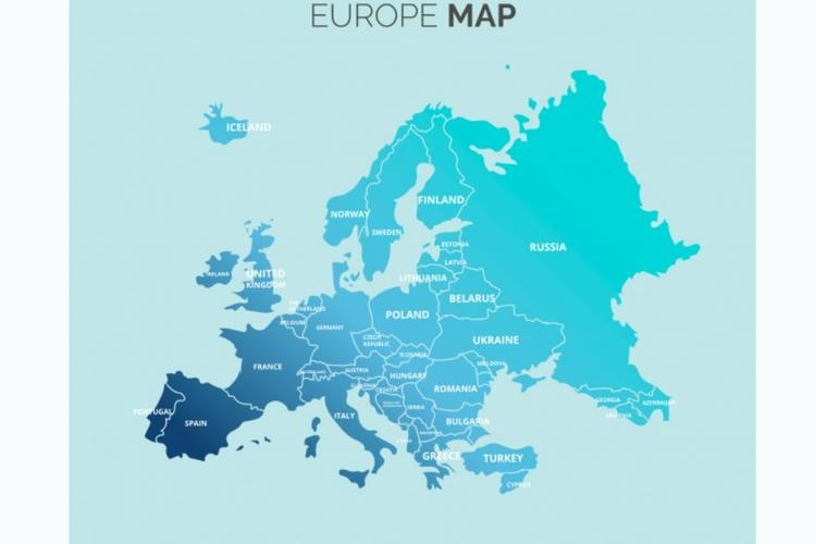 Karakteristik Benua Eropa