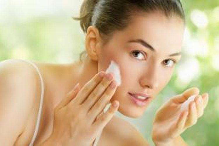 Ilustrasi skin care.