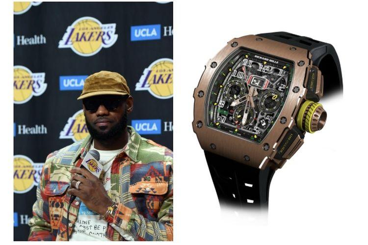 LeBron James dengan Jam Tangan Richard Mille RM 11-03