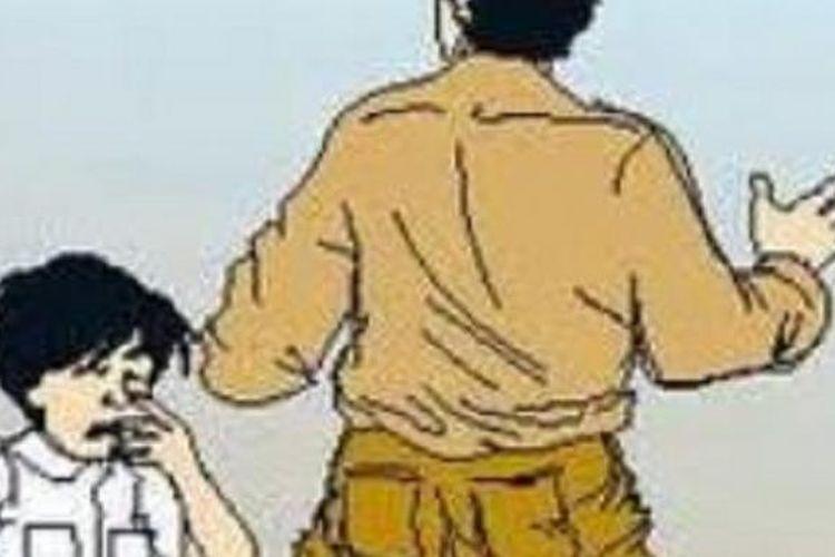 Ilustrasi penganiayaan anak-anak.