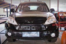 Mobil Esemka Jokowi Teronggok di
