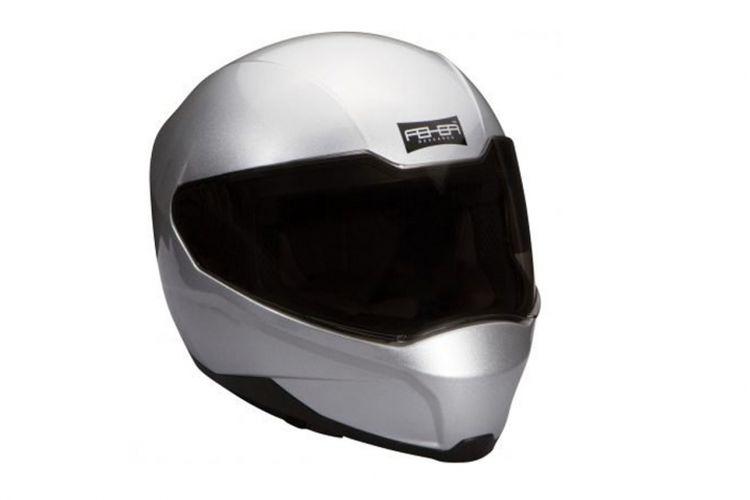 Helm Feher ACH-1, helm dengan AC untuk kenyamanan berkendara