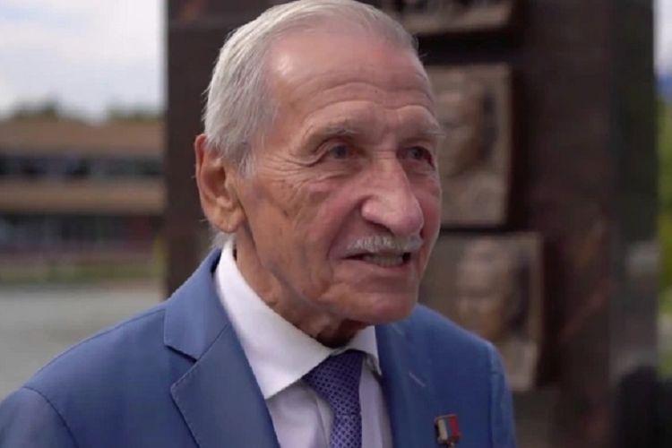 Yuri Shevchenko saat diwawancarai televisi Rusia TV Zvezda. Pria ini dijuluki mata-mata legendaris Rusia setelah berhasil mencuri rahasia dari AS dan sekutunya selama 32 tahun.