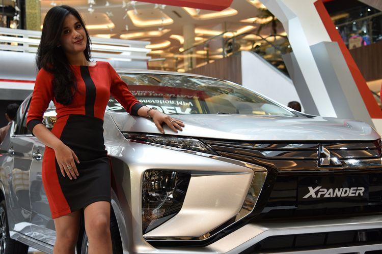 Mitsubishi Xpander meluncur di Jawa Barat